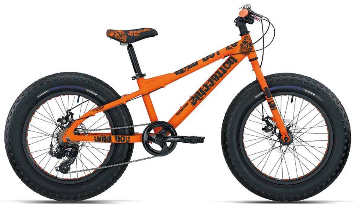 Bikes Kinder: Bottecchia Fatbike 20 Zoll orange 2018
