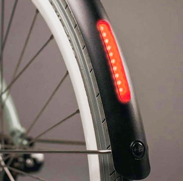 """Kunststoffschutzblech Fahrradschutzblech 28/"""" 45mm breit inkl Streben Neu"""